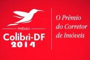 Corretores de Imóveis em destaque foram premiados com a estatueta Colibri-DF 2014