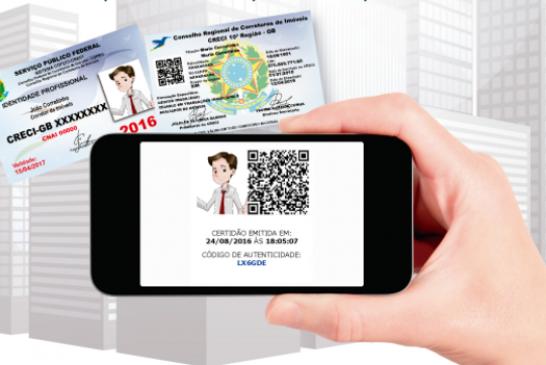 Novas Cédulas de Identidade Profissional são distribuídas pelo CRECI/DF