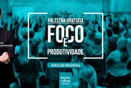 Palestra: Foco e Produtividade