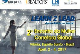 2º Encontro da Mulher Corretora Global vai acontecer nos dias 2,3 e 4 de abril na cidade de Vitória – Espírito Santo.