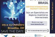 Curso para o Corretor de Imóvel ingressar no Mercado Imobiliário Internacional