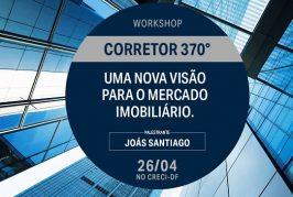 Workshop: Corretor 370º no DF