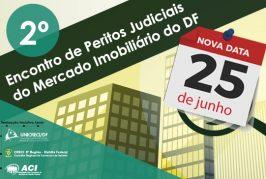 NOVA DATA: 2º Encontro de Peritos Judiciais do Mercado Imobiliário do DF