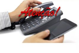 Instabilidade telefônica temporária.