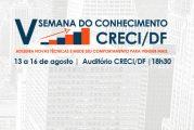 V Semana do Conhecimento CRECI/DF