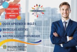 Inscrições abertas para turma de inglês