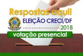 Eleição CRECI/DF 2018: Como, quando e onde votar?