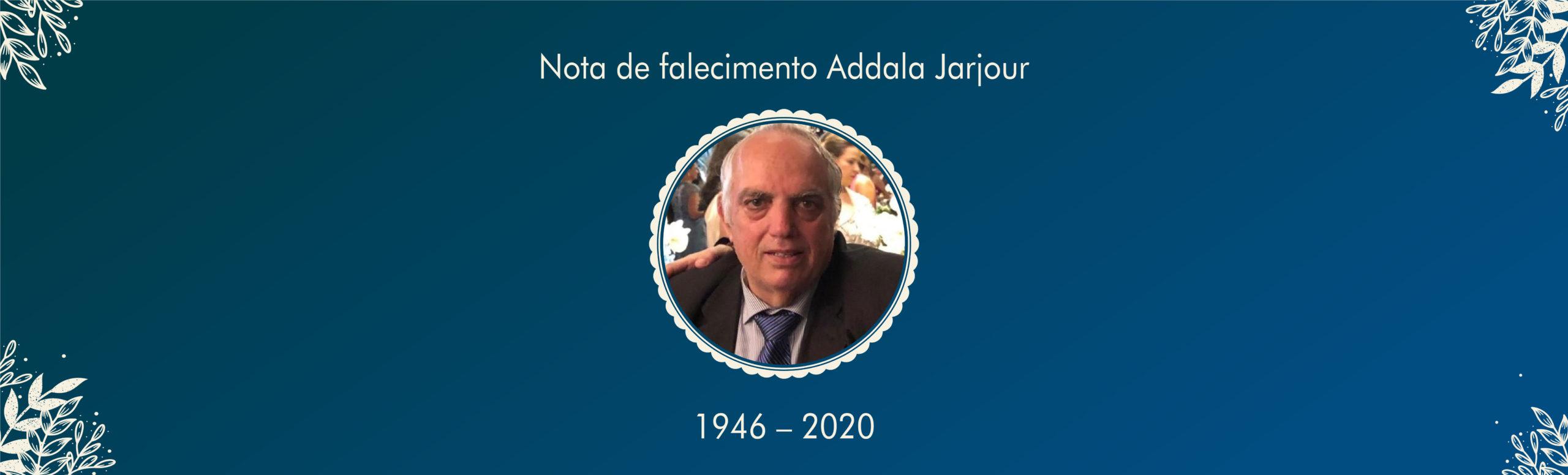 Nota de Falecimento Abdala Jarjour