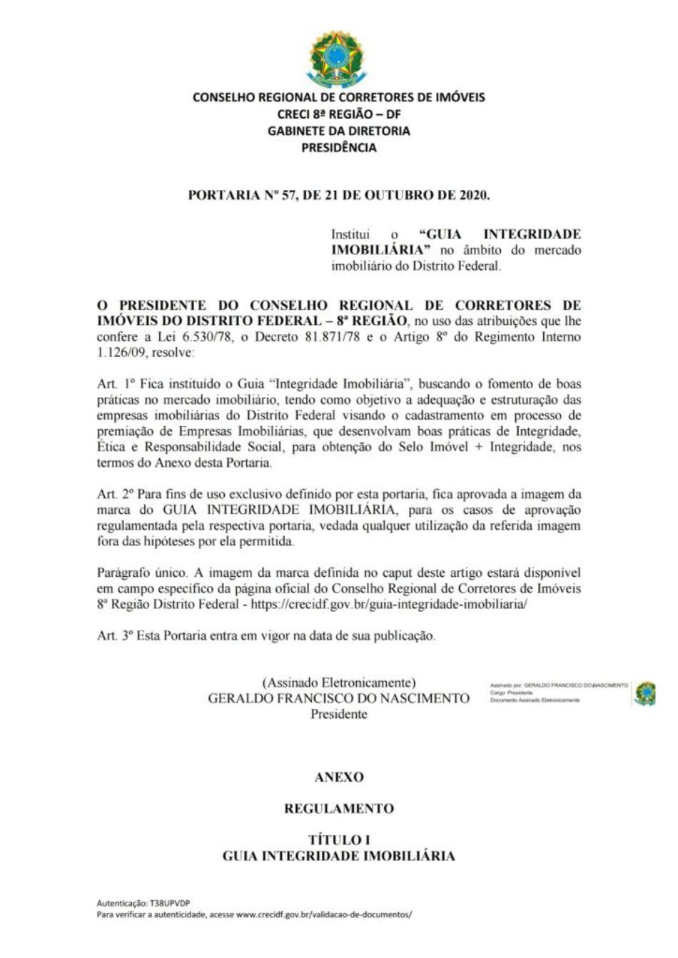 PORTARIA Nº 57 - GUIA INTEGRIDADE IMOBILIÁRIA - FINAL.pdf_page_1
